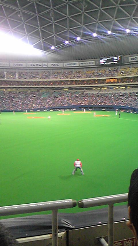 久々野球観戦